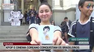 Cultura coreana conquista brasileiros com música e cinema
