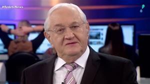 """Renan e Jucá têm tratamento diferenciado na Justiça"", diz Boris Casoy"
