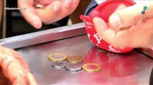 Falta de moedas preocupa comerciantes brasileiros