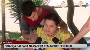 Criança baleada na cabeça no Rio tem morte cerebral