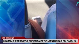 Homem é preso por suspeita de se masturbar em ônibus em Niterói