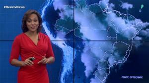 Sol predomina em quase todo país nesta sexta-feira (8)