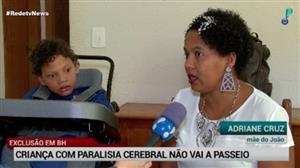 Exclusão em BH: menino com deficiência não vai ao cinema com escola