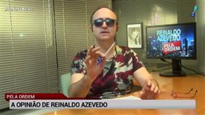 """Reinaldo Azevedo: """"Dois bandidos dizem o que o Estado deve fazer"""""""