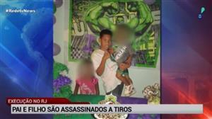 Pai e filho são assassinados a tiros na Baixada Fluminense