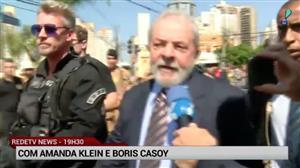 """Exclusivo: """"Verdade vai prevalecer"""", diz Lula antes de depoimento a Moro"""