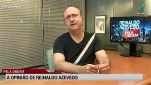 """""""Nova denúncia de Janot é de uma ruindade assombrosa"""", diz Reinaldo Azevedo"""