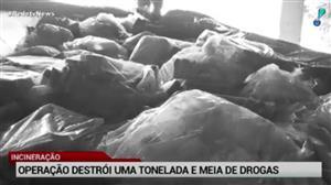 PF do Ceará incinera mais de uma tonelada de drogas