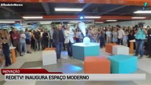 RedeTV! inaugura espaço moderno em sua sede