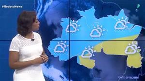 Chuva atinge boa parte da região Norte neste sábado (16)