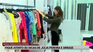 Designer Júlia Pereira dá dicas da moda primavera/verão