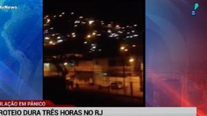 Rio de Janeiro tem novas cenas de guerra durante a madrugada