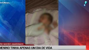 Recém-nascido é resgatado por bombeiros após ser abandonado