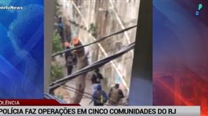 Polícia faz operação na Rocinha e em outras quatro comunidades