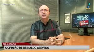 """""""STF manda à Câmara denúncia que viola Constituição"""", diz Reinaldo Azevedo"""
