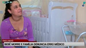 Exclusivo: bebê morre no interior de SP e suspeita é de erro médico
