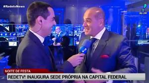 Inauguração da sede da RedeTV! em Brasília agita capital federal