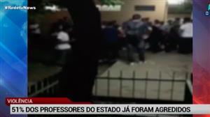 51% dos professores de São Paulo já foram agredidos