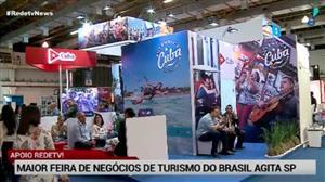 Maior feira de turismo de negócios do Brasil agita SP