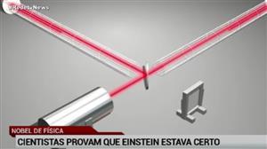 Nobel de Física vai para cientistas que comprovaram tese de Einstein