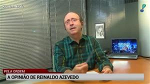 """""""Eleições em 2018 terão um festival de caixa 2"""", diz Reinaldo Azevedo"""
