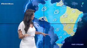Chuva se espalha pelo Sul, Centro-Oeste e Norte do Brasil