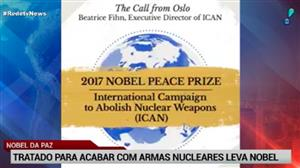 Nobel da Paz vai para tratado que quer acabar com armas nucleares