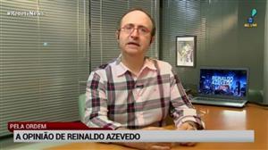 Para Reinaldo Azevedo, Doria tem que tomar cuidado com excesso de ambição