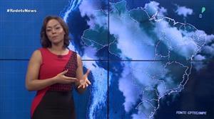 Sudeste deve ter pancadas de chuva nesta terça (10)