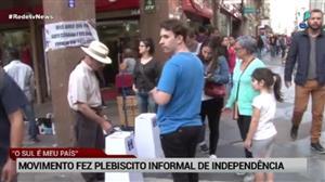 """""""Sulistas estão com complexo de Catalunha"""", ironiza Boris Casoy"""