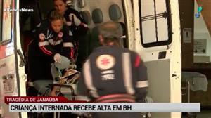 Janaúba: criança internada recebe alta em Belo Horizonte