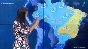 Boa parte do Brasil terá calor e forte chuva nesta quinta (12)