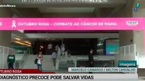 Câncer de mama: diagnóstico precoce pode salvar vidas