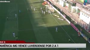 Série B: América-MG vence Luverdense por 2 a 1 e segue na cola do Inter