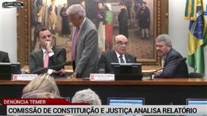 CCJ da Câmara começa a discutir denúncia contra Temer