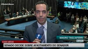 Senado decide afastamento de Aécio Neves