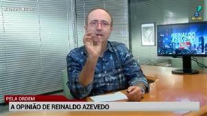 """""""Seria inaceitável uma 'cassação branca' de Aécio"""", diz Reinaldo Azevedo"""
