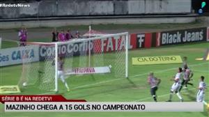 Mazinho chega a 15 gols na Série B