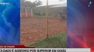 Soldado é agredido por superior em Goiás