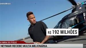 Neymar recebe multa milionária da Justiça de SP