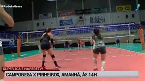 Superliga Feminina: RedeTV! transmite Camponesa x Pinheiros neste sábado
