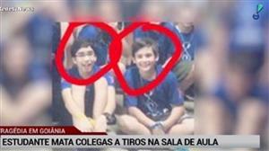 Aluno abre fogo contra colegas em Goiânia e mata dois