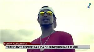 Polícia do Rio diz que Rogério 157 recebeu ajuda de funkeiro para fugir