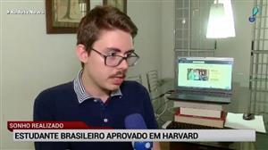 Estudante brasileiro de medicina faz 'vaquinha' para estudar em Havard