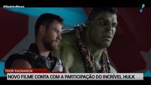"""""""Thor: Ragnarok"""" conta com a participação do incrível Hulk"""