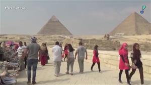 Cientistas encontram espaço vazio em pirâmide no Egito