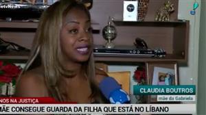 Mãe brasileira consegue guarda da filha que está no Líbano