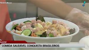 Comida saudável ganha cada vez mais fãs no Brasil