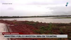 Ministério Público investiga obra em Tocantins