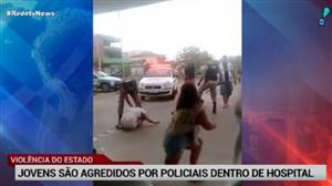 Em Minas Gerais, jovens são agredidos por policiais dentro de hospital